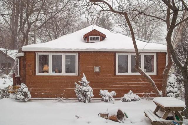 Toronto Islands house