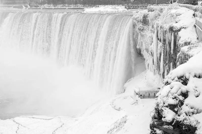 The Lower Observation Deck, Niagara Falls