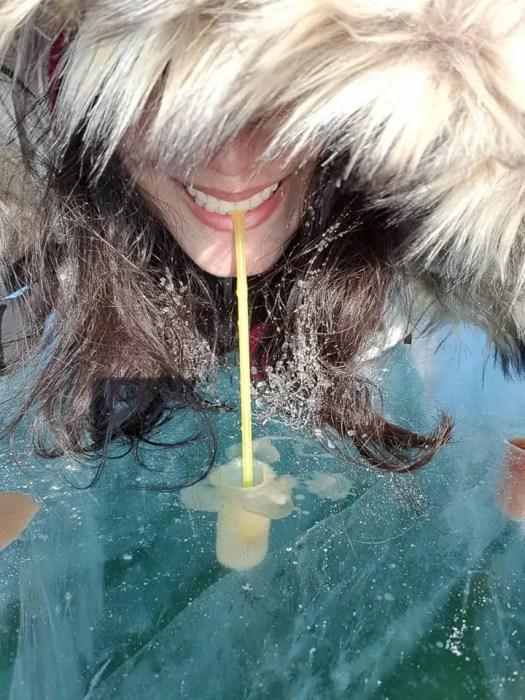 Ice drink