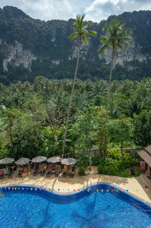 View from Ibis Hotel, Ao Nang