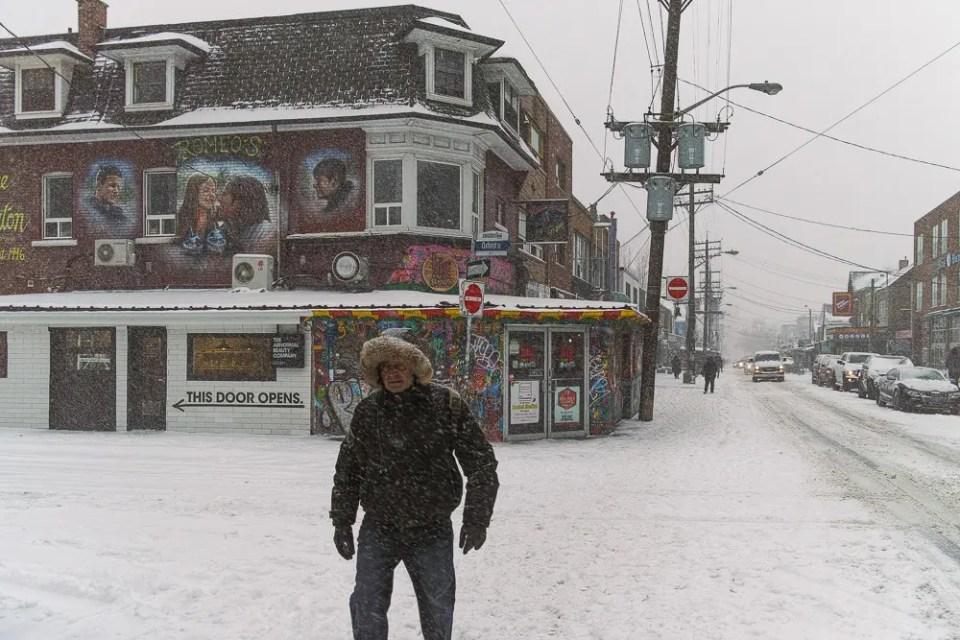 Toronto winter storm