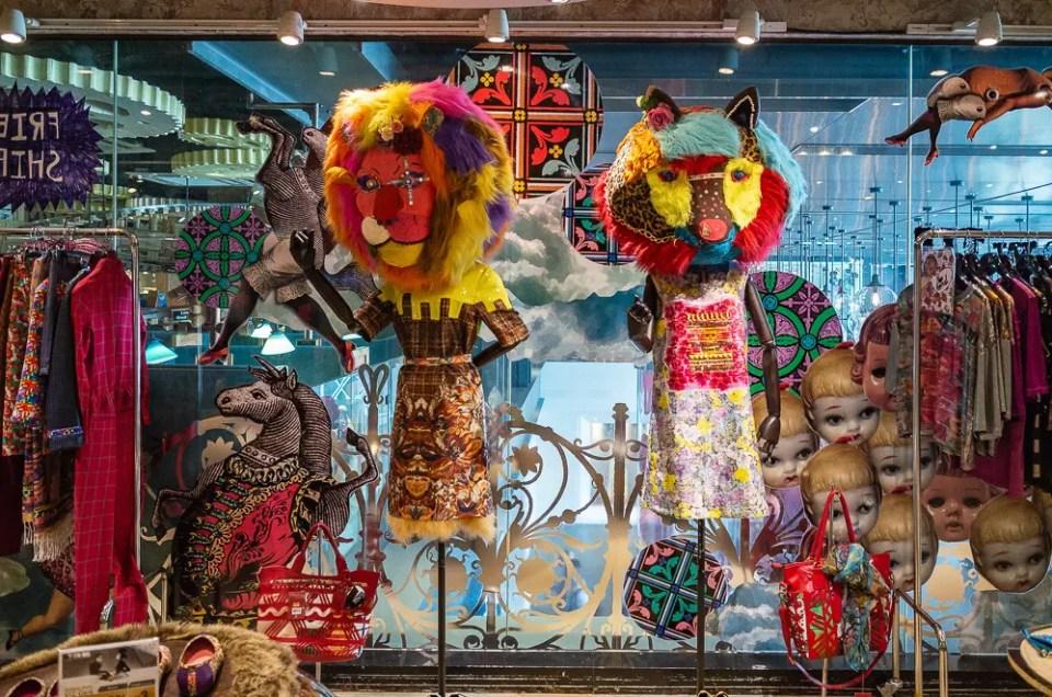 Bangkok colorful fashion