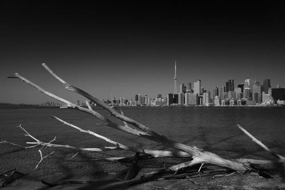 Downtown view from Toronto Islands