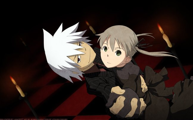 Maka and Soul dancing