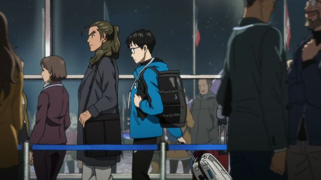 Yuri on Ice - Episode 1 - Yuri and Celestino