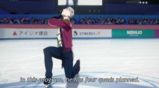 Yuri on Ice Ep 1q