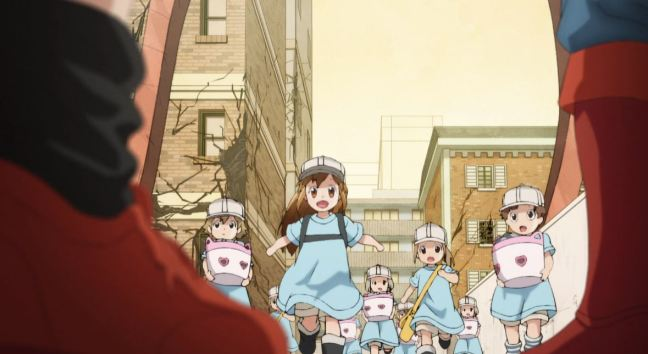 Cells at Work Episode 10 Platelets
