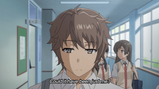 Rascal Does Not Dream of Bunny Girl Senpai Episode 4