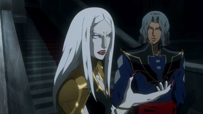 Castlevania Season 2 Camilla and Hector