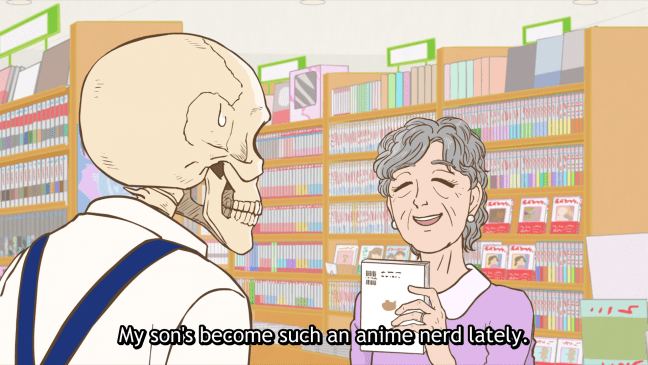Image result for skull-face bookseller honda-san quotes