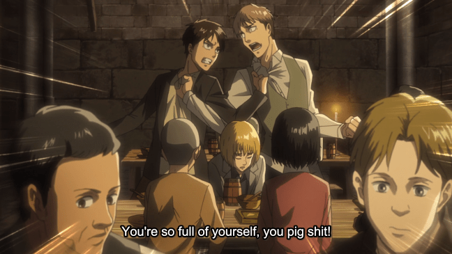 Attack on Titan Season 3 Episode 12 - Jean and Eren