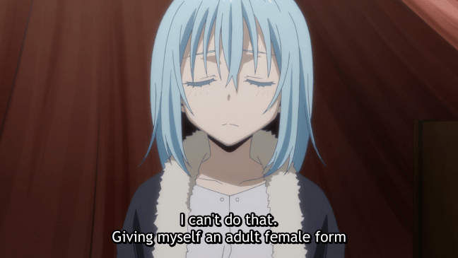That Time I Got Reincarnated as a Slime Episode 9 Rimuru in human form