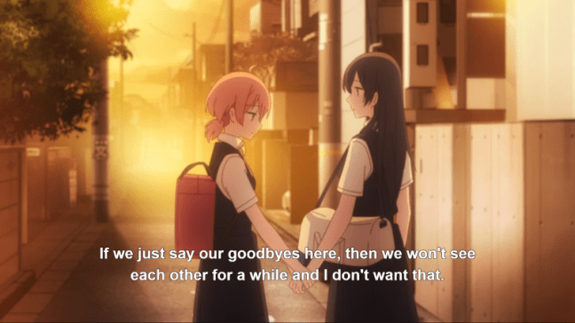Bloom Into You Episode 12 Nanami and Yuu