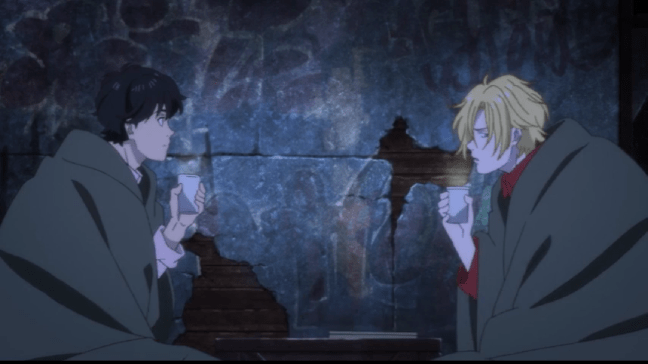 Banana Fish Episode 21 Ash and Eiji