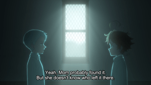 The Promised Neverland Episode 2 - Norman and Emma