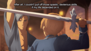 Sword Art Online Alicization Episode 18 Describing Kirito's Sword Style