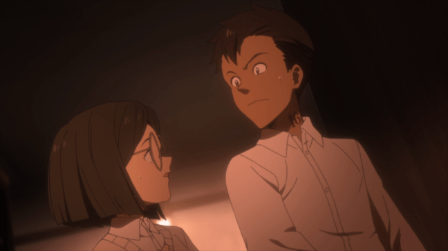 The Promised Neverland Episode 6 Don and Gilda