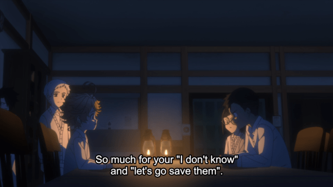 The Promised Neverland Episode 6 Don Calls Them On Their Lie