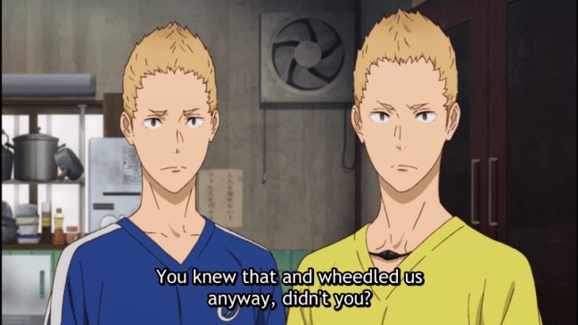 Run With The Wind Episode 17 Twins