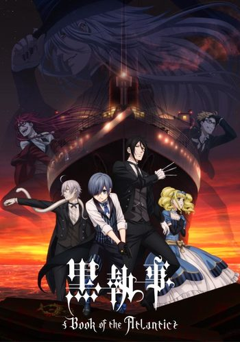 Black Butler Book of Atlantic