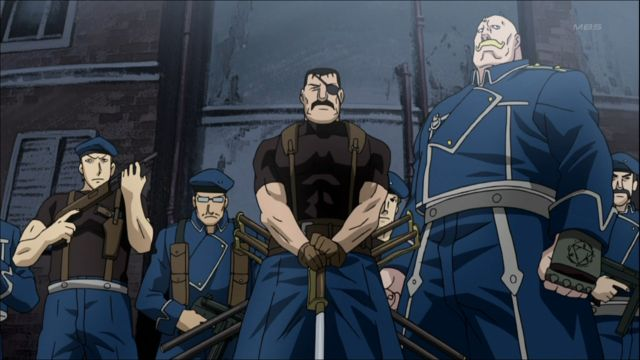 Full Metal Alchemist Brotherhood Fuhrer Bradley