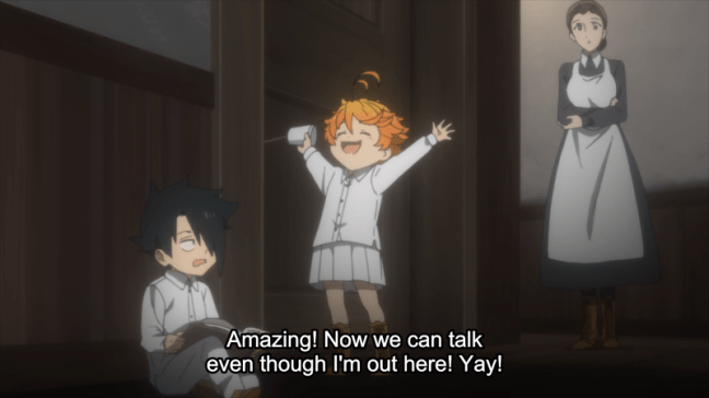 The Promised Neverland Episode 10 Emma