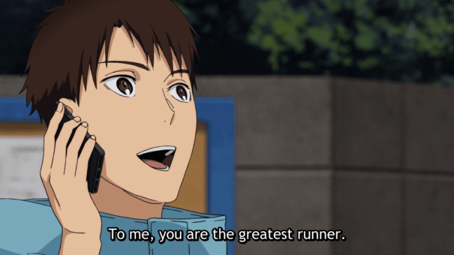 Haiji - To me you are the greatest runner. Run With The Wind Episode 22