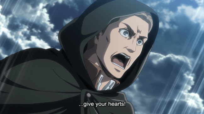 Erwin - Attack on Titan Season Three Part Two Episode Two