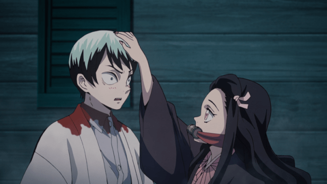 Demon Slayer: Kimetsu no Yaiba - Nezuko pats Yushiro