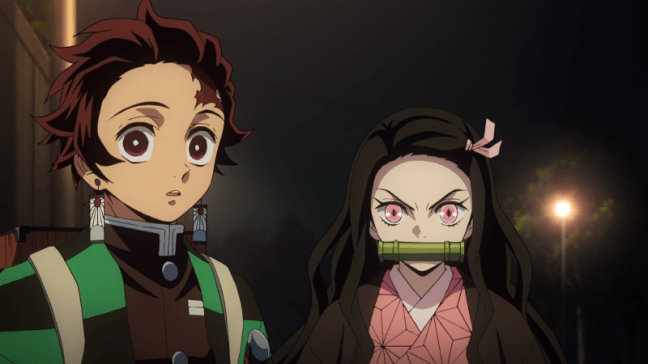 Demon Slayer Episode 8 - Tanjiro and Nezuko
