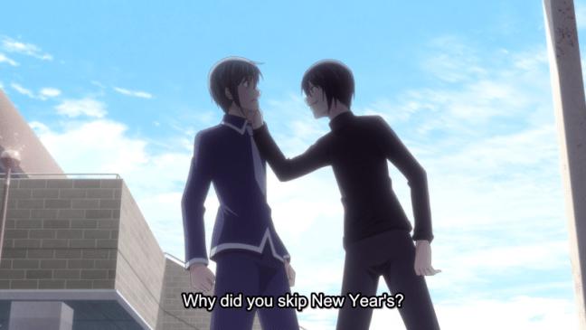Yuki and Akito - Fruits Basket 2019 anime - Episode 12