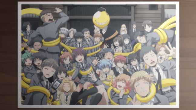 The students of Class E in Assassination Classroom.