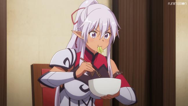Realist Hero Episode 5 - Aisha eats noodles