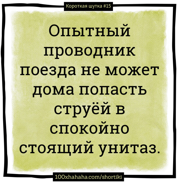 Короткие русские шутки+Картинки | Опытный проводник поезда ...