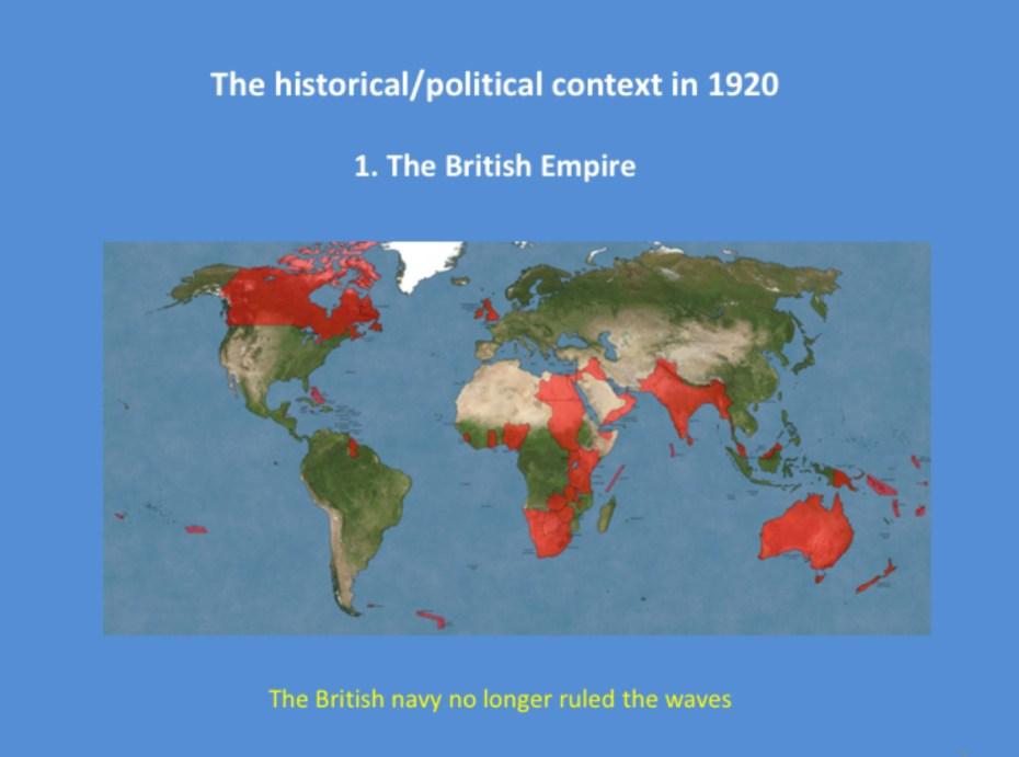 The British Empire 1920