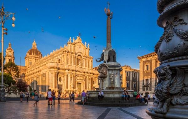 L'elefante simbolo di Catania
