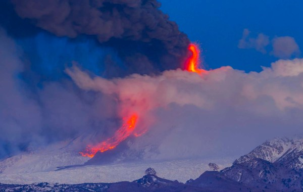 Etna parossismo del 17 marzo 2021