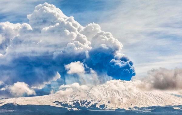 Etna versante ovest, parossismo del 19 marzo 2021