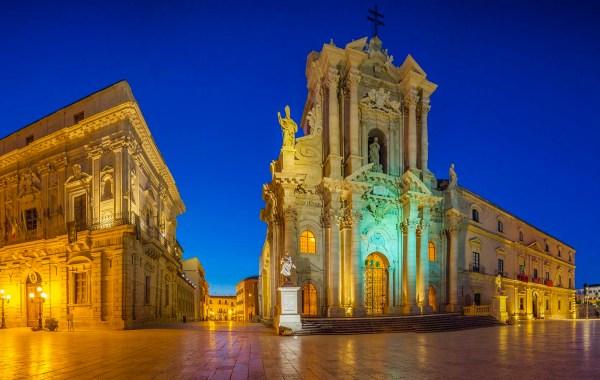 Ortigia, piazza Duomo