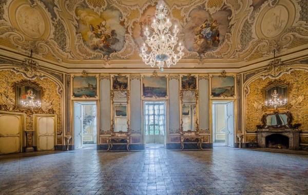 Palazzo Biscari grande Salone detto dell'Orchestra