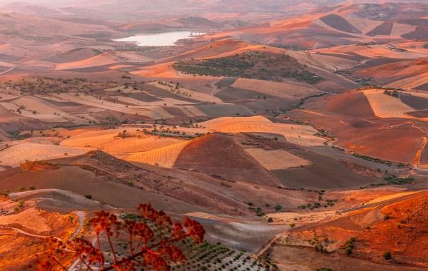 Le colline del centro della Sicilia