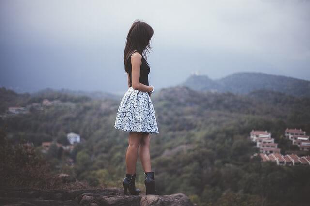 孤独な少女