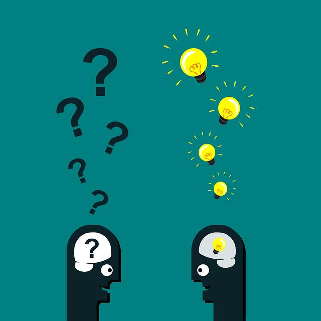 質問と閃き