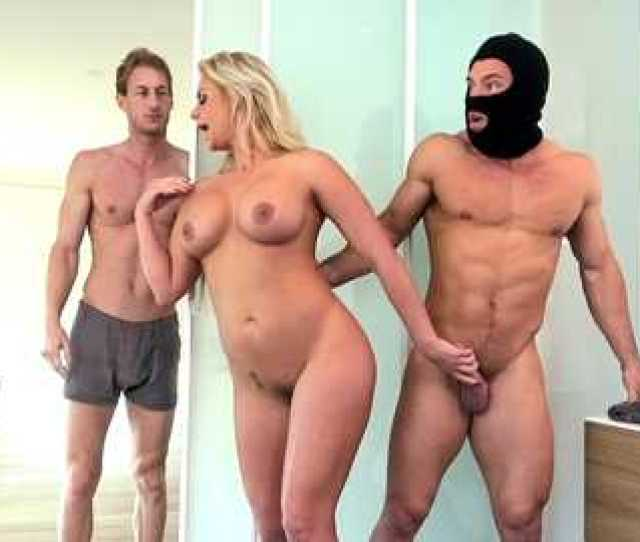 Cheating Blonde Spouse Phoenix Marie Is Banged By Huge Dicked Burglar