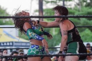 F1rst Wrestling Badger Briggs vs Kristy James 081521 8483