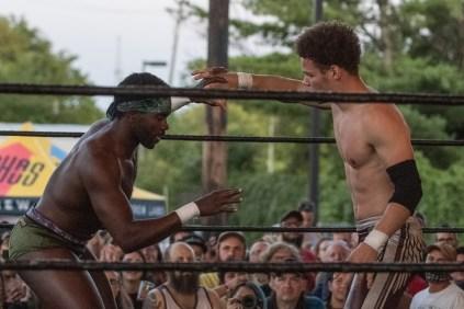 F1rst Wrestling Jah C vs Dante Martin 081521 8506
