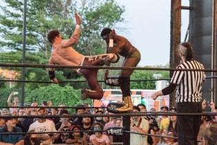 F1rst Wrestling Jah C vs Dante Martin 081521 8552