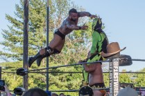 F1rst Wrestling Manders of the West and Renny D vs Thunderfrog and Yellow Dog 081521 8322