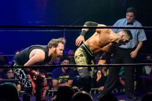First Wrestling Wrestlepalooza Arik Cannon vs Ariya Daivari 01334