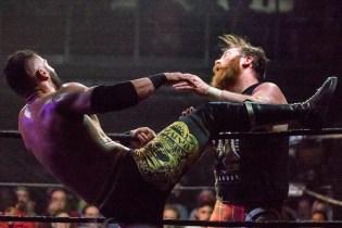 First Wrestling Wrestlepalooza Arik Cannon vs Ariya Daivari 01379